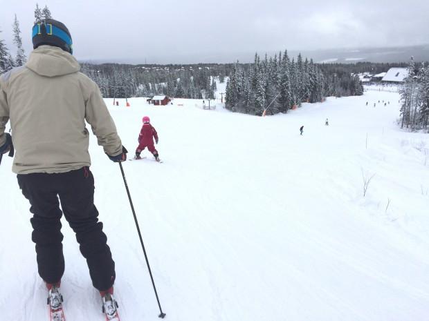 Skitur med hele familien – 3 generationer
